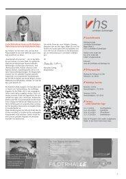 Download Programm 1/2014 - VHS - Leinfelden-Echterdingen