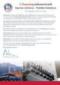 3. Thementag Außenwirtschaft - Bundesanzeiger Verlag - Seite 2