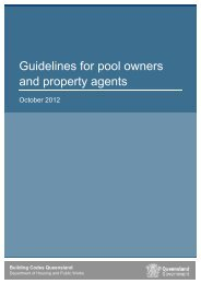 Guidelines for pool owners and property agents - Department of ...