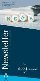 15. Ausgabe: SS 2013 - Westfälische Wilhelms-Universität Münster