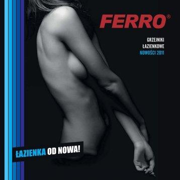Grzejniki łazienkowe - nowość 2011 - Ferro