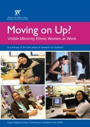 Visible Minority Ethnic Women at Work