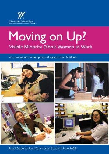 Visible Minority Ethnic Women at Work