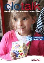 Trends & possibilities school milk still a hit - Elopak