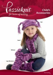 Kids Hat, Scarf, Mittens and Leg Warmers - Passioknit Knitting ...