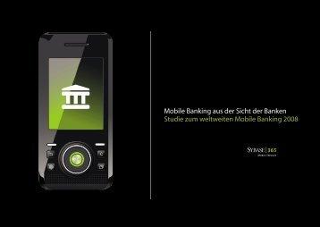 Mobile Banking aus der Sicht der Banken Studie zum weltweiten ...