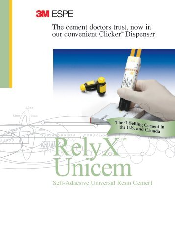 RelyX Unicem Clicker - promosa dental