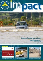 National Hazardscape Report - Ministry of Civil Defence and ...