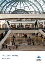 GCC Retail Industry - Alpen Capital