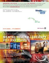 MENTAL HEALTH / THERAPY - Kinetic Video