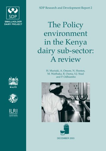 Muriuki et al-2003-Policy environment report.pdf - ILRI