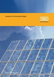 Lösungen für Photovoltaik-Anlagen - Sonepar