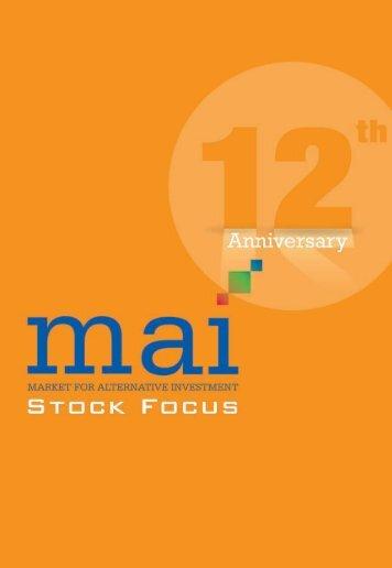 หนังสือ mai Stock Focus - The Stock Exchange of Thailand