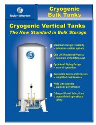 Taylor Wharton Vertical Storage Tanks PDF - Asistec