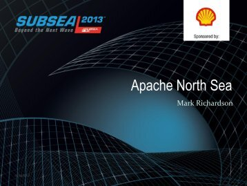 Plenary Session presentation - Subsea UK
