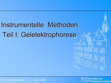Kein Folientitel - TCI @ Uni-Hannover.de