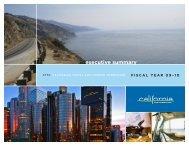 executive summary - California Tourism