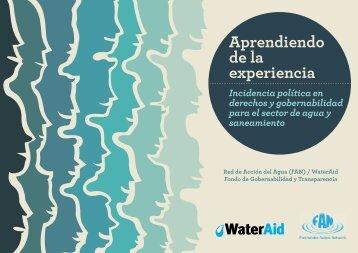 Aprendiendo de la experiencia - Freshwater Action Network