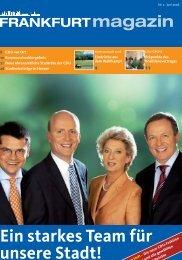 Nr. 2 Februar 2006 - CDU-Kreisverband Frankfurt am Main