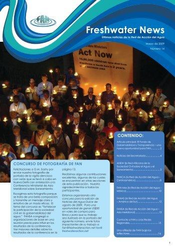 FAN Newsletter 14 March 2009 SP.pdf - Freshwater Action Network