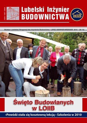 Nr 15. Pobierz w formacie PDF - Lubelska Okręgowa Izba ...