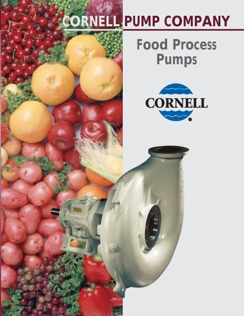Cornell-Food-Process   - BBC Pump and Equipment
