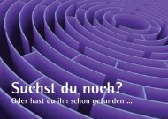 Suchst du noch? - Evangelische Hochschule Nürnberg