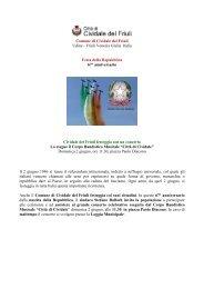 Comune di Cividale del Friuli Udine - Turismo Friuli Venezia Giulia