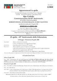 Omegna - Anpi Novara