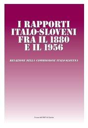 Relazione della Commissione italo-slovena - Anpi
