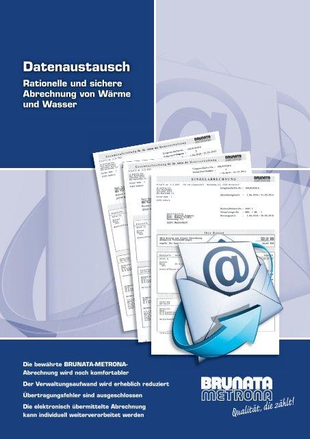 Prospekt 1210 Datenaustausch Hh Indd Brunata Hamburg