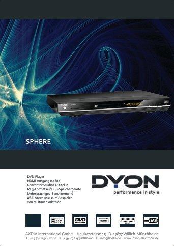 Flyer - Dyon