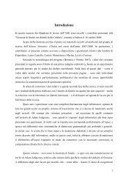 Introduzione - Atlante Sintattico dell'Italia Settentrionale