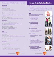 Pneumologische Rehabilitation - GlaxoSmithKline Pharma GmbH