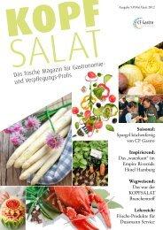 Saisonal: Spargel küchenfertig von CF Gastro Inspirierend: Das ...