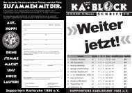 jetzt! - Supporters Karlsruhe 1986 eV