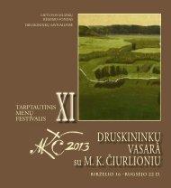 Druskininkų vasara su M.K.Čiurlioniu. Bukletas. 2013 m.pdf - Lmrf.lt