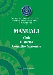 manuali 2013 - Inner Wheel Italia