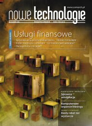 Magazyn Nowe Technologie 04 -- 01.indd - Comarch