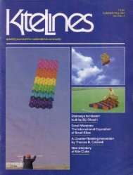 Kite Lines - Summer/Fall 1984 (Vol. 5 No. 2) - KiteLife