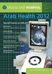 January 2012 magazine - Middle East Hospital Magazine