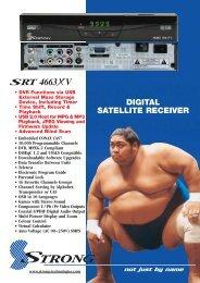 SRT 4663XV Brochure - Strong Technologies