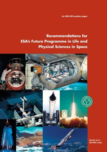 Recommendations for ESA's Future Programme in Life and Physical ...