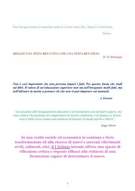 piano di studio dell'indirizzo linguistico - Liceo Platone