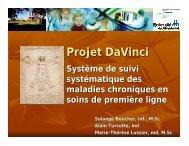 Projet DaVinci - SoQibs