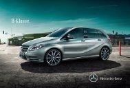 Broschüre der B-Klasse herunterladen (PDF) - Mercedes-Benz ...
