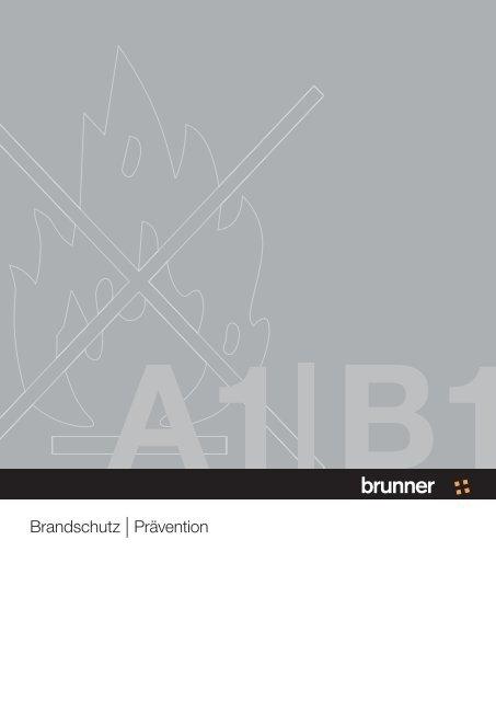 Brandschutz Prävention Brunner Group