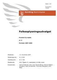 Beslutninger (pdf) - Kolding Kommune