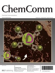 Chemical Communications - ResearchGate