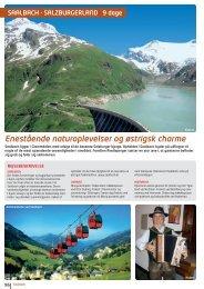Enestående naturoplevelser og østrigsk charme - NILLES REJSER ...